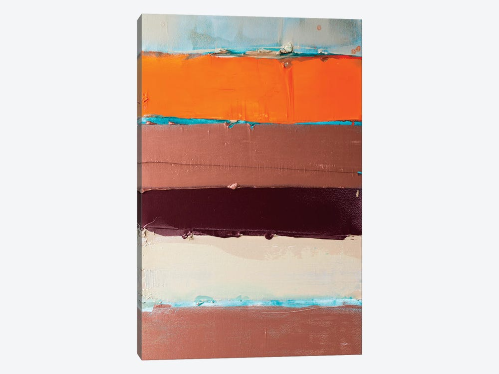 Orange Is The New Stripe I by Kent Youngstrom 1-piece Art Print
