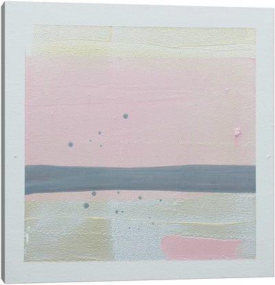 Pink Sunset I Canvas Art Print
