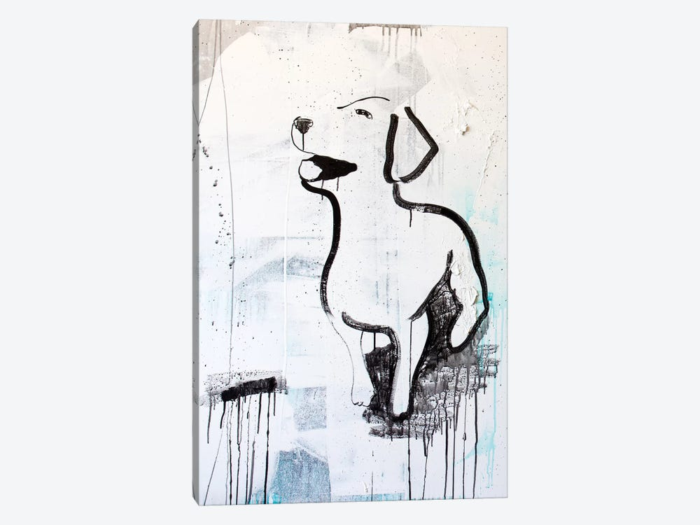 Puppy Love by Kent Youngstrom 1-piece Canvas Art Print