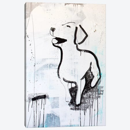 Puppy Love Canvas Print #KYO276} by Kent Youngstrom Art Print