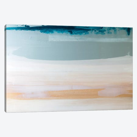 Weekend At The Beach Canvas Print #KYO283} by Kent Youngstrom Art Print