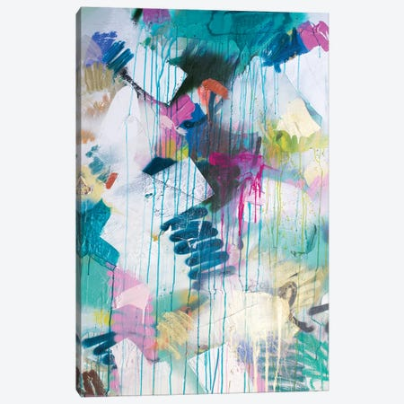 Squiggle And Drip Canvas Print #KYO286} by Kent Youngstrom Canvas Artwork