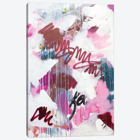 Pink Combustion Canvas Print #KYO287} by Kent Youngstrom Canvas Artwork