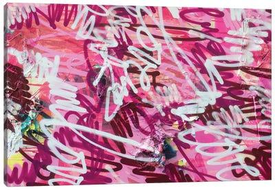 Love V Canvas Art Print