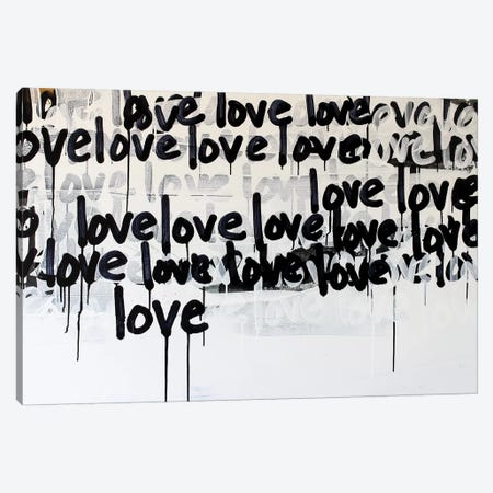 Messy Love Canvas Print #KYO321} by Kent Youngstrom Canvas Art