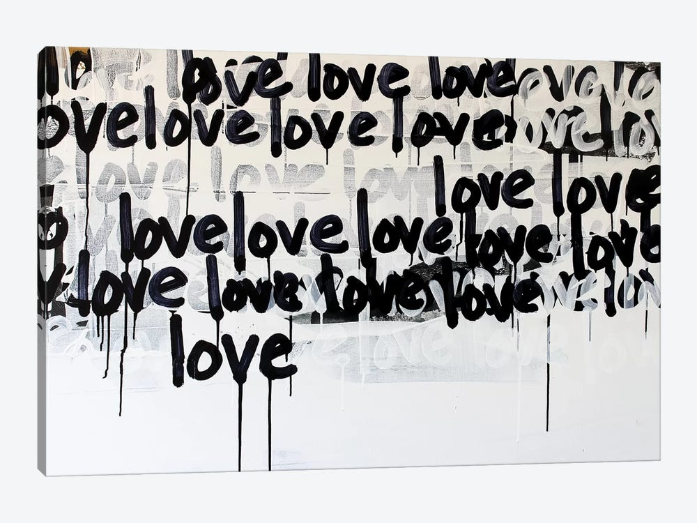 Messy Love by Kent Youngstrom 1-piece Canvas Art