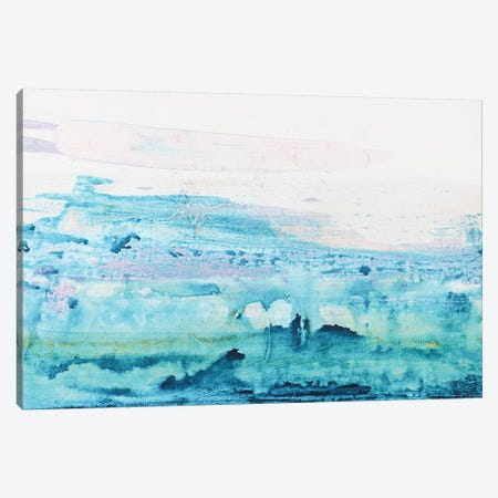 Ocean Splatter Canvas Print #KYO322} by Kent Youngstrom Canvas Artwork