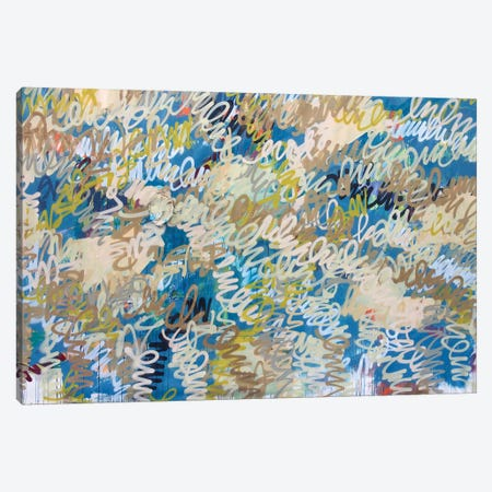 Squiggle Me This Canvas Print #KYO324} by Kent Youngstrom Canvas Print