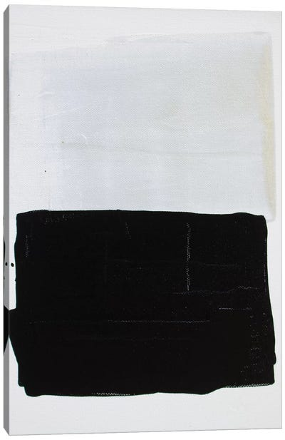 Gray Series V Canvas Art Print