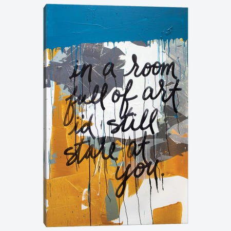 In A Room Large Canvas Print #KYO379} by Kent Youngstrom Art Print