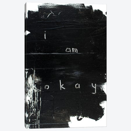 Okay Then Canvas Print #KYO386} by Kent Youngstrom Canvas Art Print