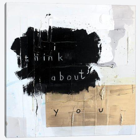 I Think About You Canvas Print #KYO395} by Kent Youngstrom Canvas Wall Art