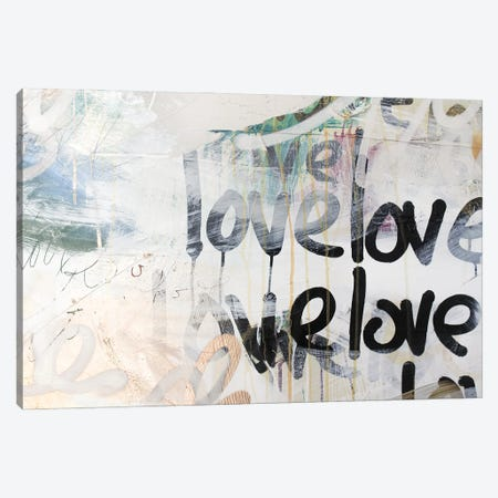 Gold Love II Canvas Print #KYO401} by Kent Youngstrom Canvas Print