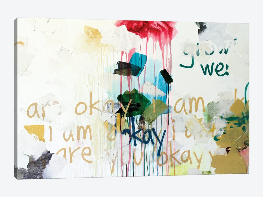 I Am Okay I by Kent Youngstrom 1-piece Canvas Wall Art