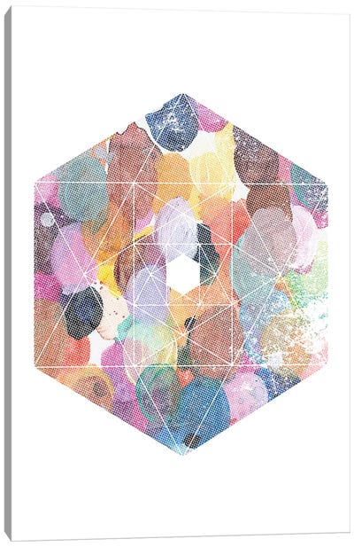 Diamond Canvas Art Print