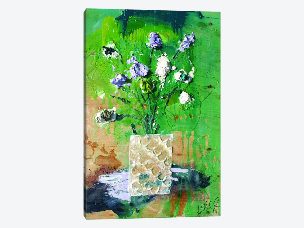 Dim Flowers by Kent Youngstrom 1-piece Canvas Art Print