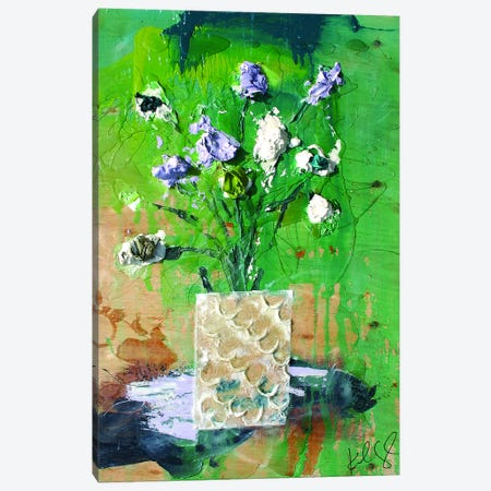 Dim Flowers Canvas Print #KYO44} by Kent Youngstrom Art Print