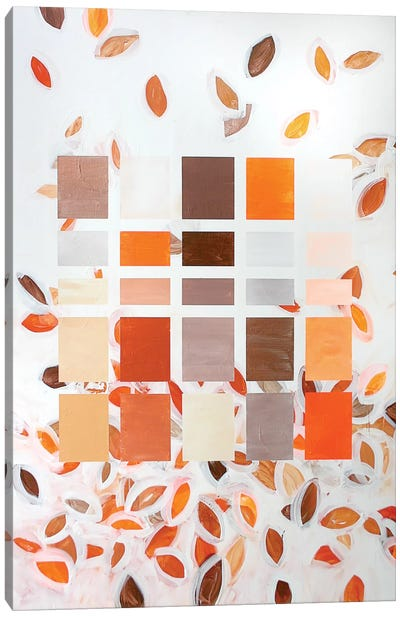 Fall Leaves Canvas Print #KYO52