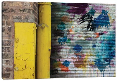 Garage Door Canvas Print #KYO53