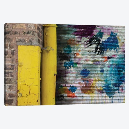 Garage Door Canvas Print #KYO53} by Kent Youngstrom Canvas Art Print