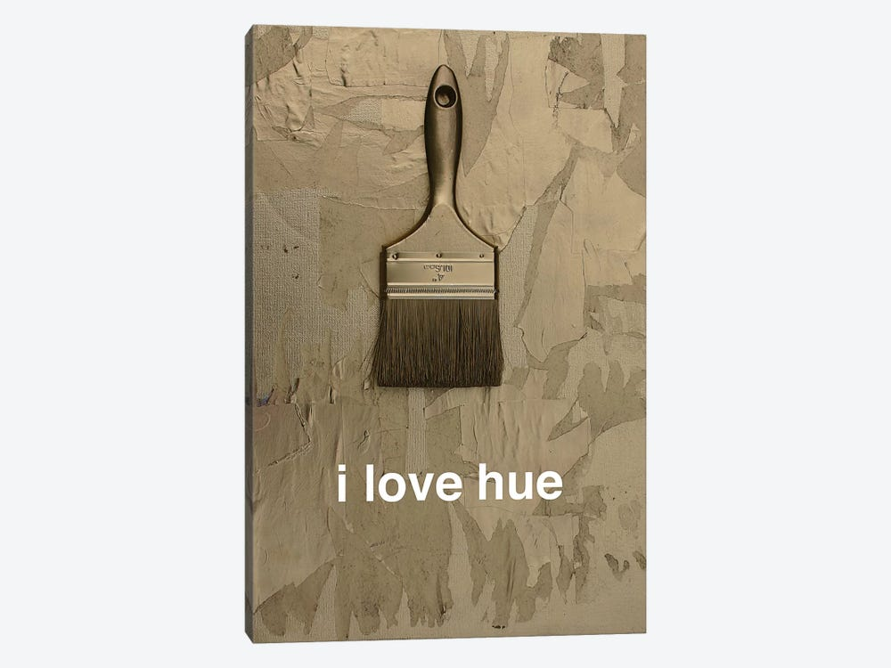 I Love Hue In Gold by Kent Youngstrom 1-piece Art Print