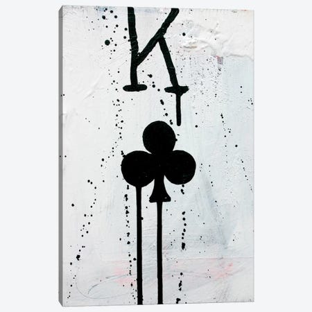 King Of Clubs Canvas Print #KYO63} by Kent Youngstrom Canvas Art