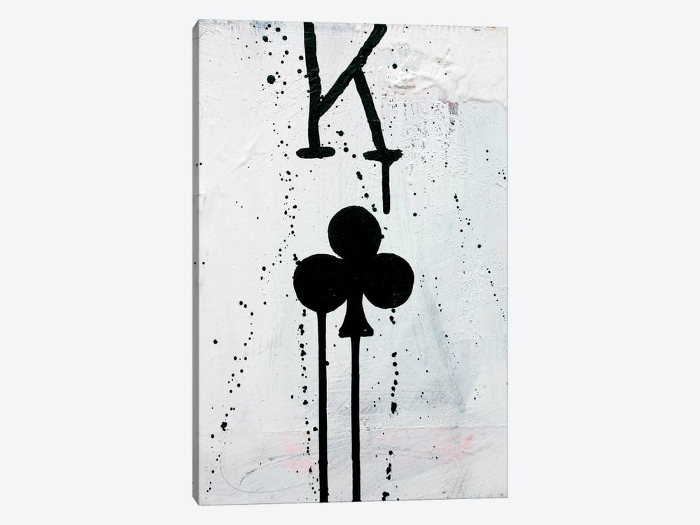 King Of Clubs by Kent Youngstrom 1-piece Canvas Wall Art