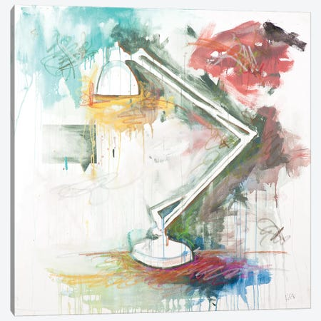 Lamp Canvas Print #KYO64} by Kent Youngstrom Art Print