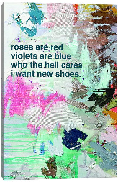 New Shoes Canvas Art Print