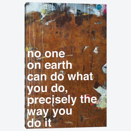 No One I Canvas Print #KYO81} by Kent Youngstrom Canvas Artwork