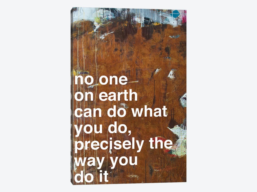 No One I by Kent Youngstrom 1-piece Canvas Wall Art