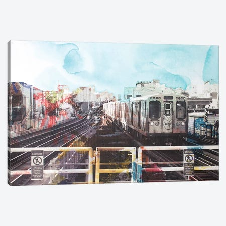 On The Way Canvas Print #KYO85} by Kent Youngstrom Canvas Print