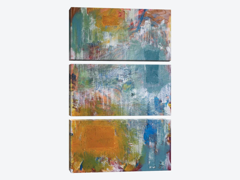 Paint Tray by Kent Youngstrom 3-piece Canvas Art