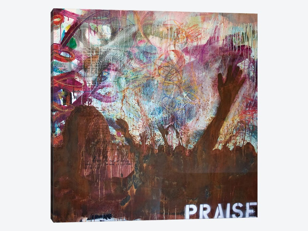 Praise by Kent Youngstrom 1-piece Canvas Print