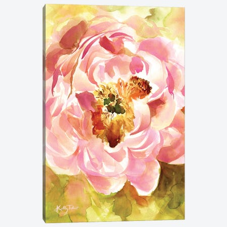 Peony Paradise Canvas Print #KYT12} by Kelley Talent Canvas Art