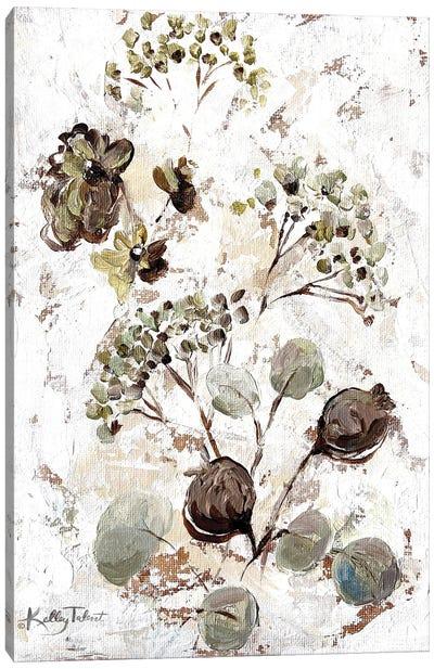 Bright Seed Bouquet II Canvas Art Print