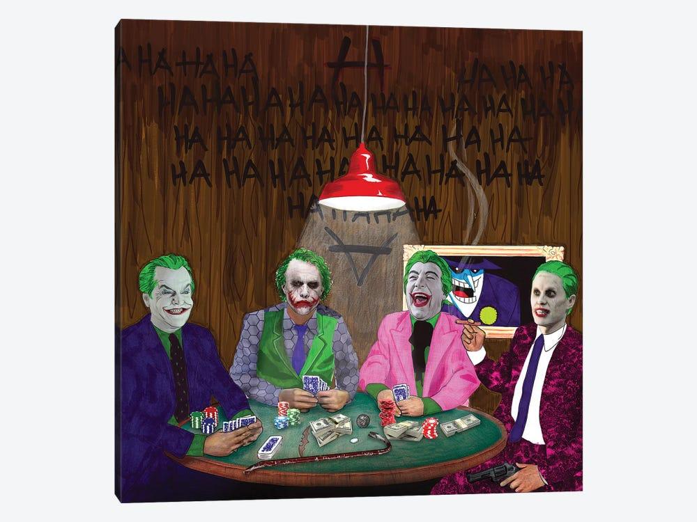 Batman Jokers Wild by Kyle Willis 1-piece Canvas Art