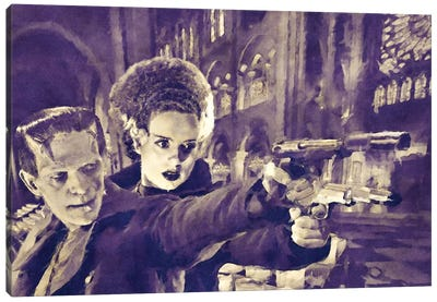 Boondock Franks Canvas Art Print