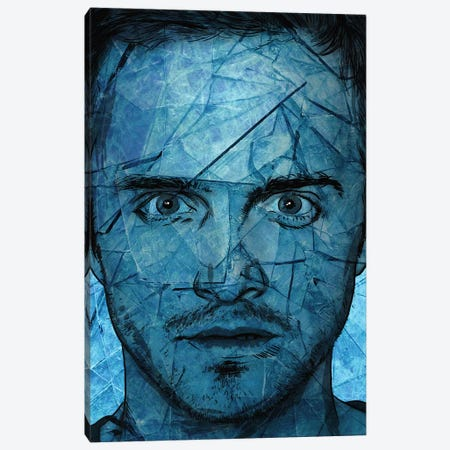 Breaking Bad Jesse P Canvas Print #KYW17} by Kyle Willis Canvas Art