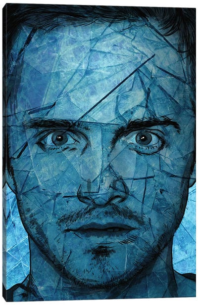 Breaking Bad Jesse P Canvas Art Print