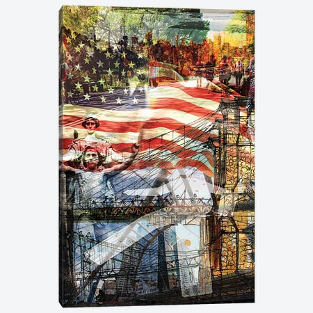 NYC Series This Is America Canvas Print #KYW26} by Kyle Willis Canvas Art Print