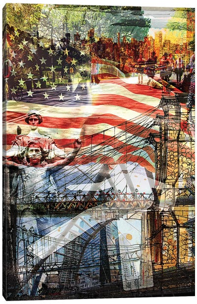 NYC Series This Is America Canvas Art Print