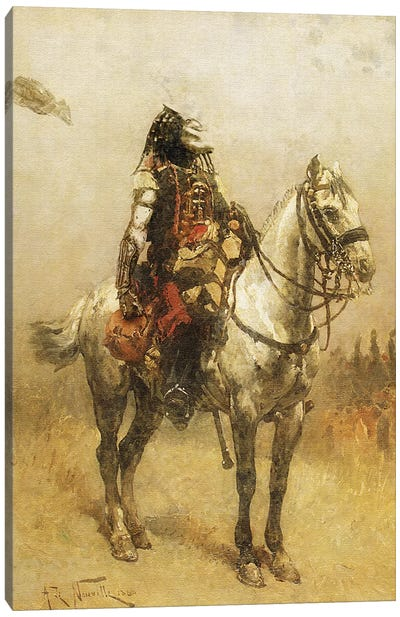 Predator Classical Canvas Art Print