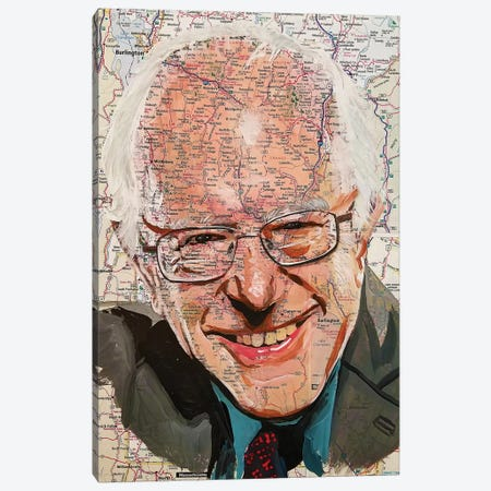 Bernie From Vermont Canvas Print #KYW33} by Kyle Willis Art Print