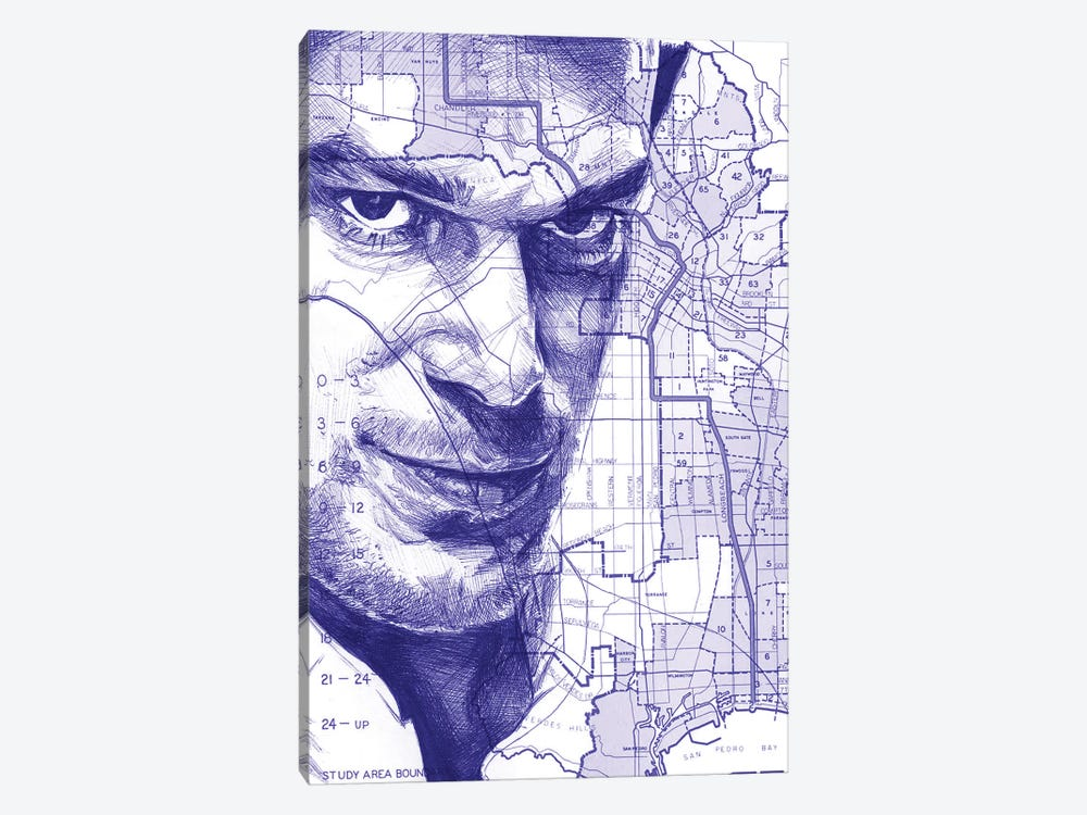 Dexter From Miami by Kyle Willis 1-piece Canvas Wall Art