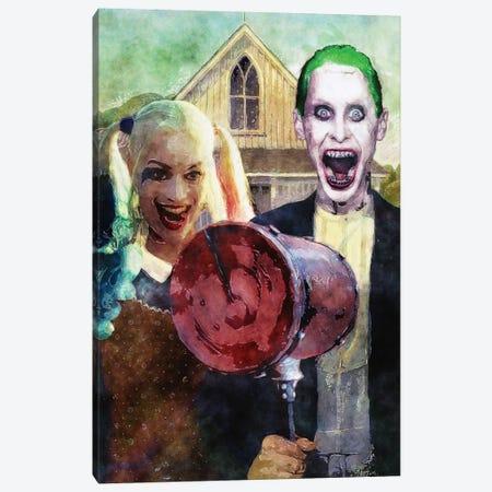 Batman American Gotham Canvas Print #KYW3} by Kyle Willis Canvas Print
