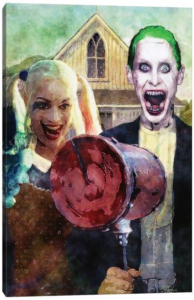 Batman American Gotham Canvas Art Print