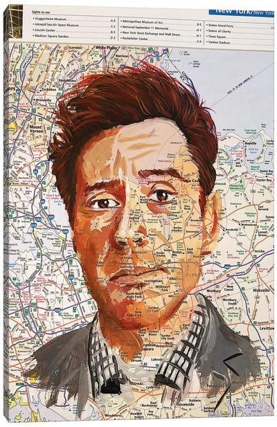 Robert From New York Canvas Art Print