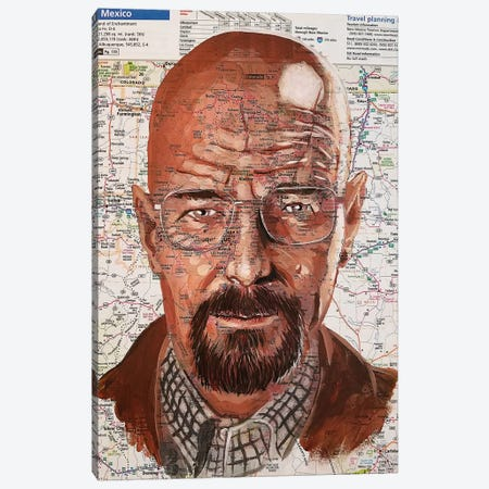 Walter White Canvas Print #KYW51} by Kyle Willis Art Print