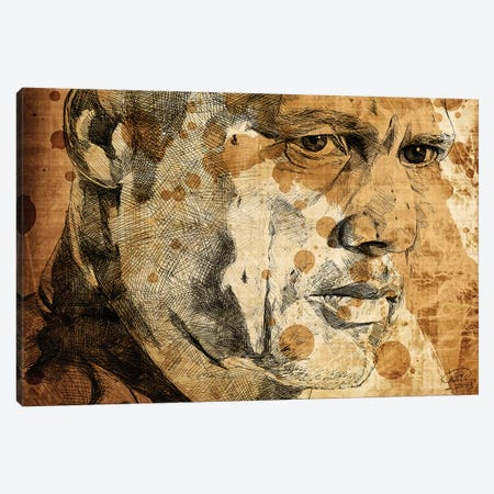 Sons Of Anarchy Happy Oil Stained Canvas Print #KYW54} by Kyle Willis Canvas Wall Art